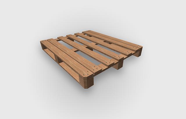 palettes de bois recyclées